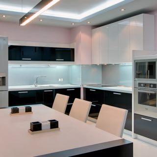 Угловые кухни — 100 фото интерьера кухни в современном стиле