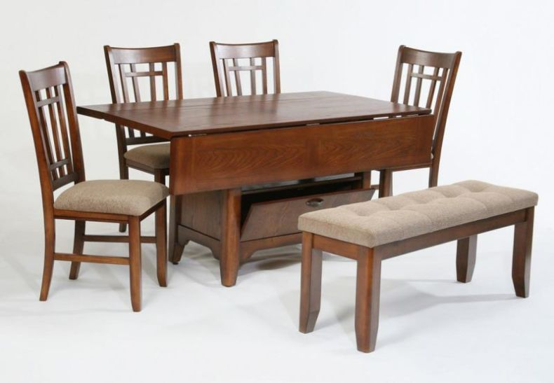 drop-leaf-kitchen-table-set