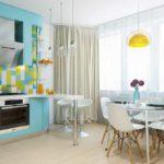шторы на кухню - 16