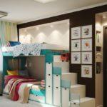 Дизайн детской спальни: ТОП-110 фото идей безупречного оформления