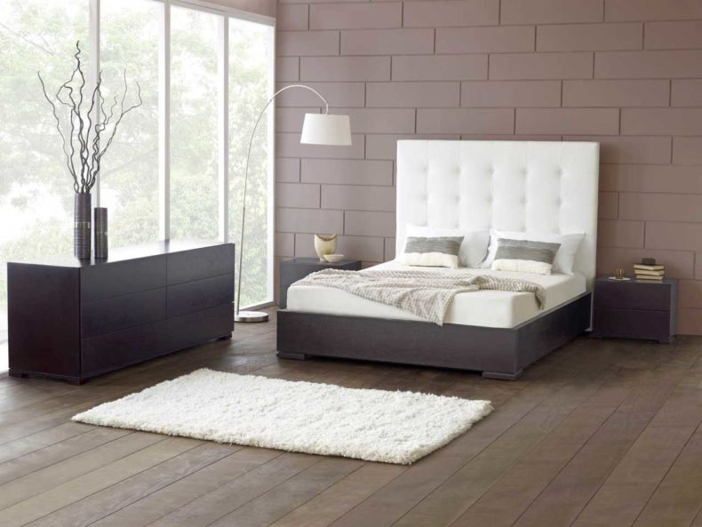 amazing-white-bedroom-furniture-design-with-modern-wood-flooring-and-three-contemporary-brown-table-lamp-with-decorative-lights-left-design-ideas