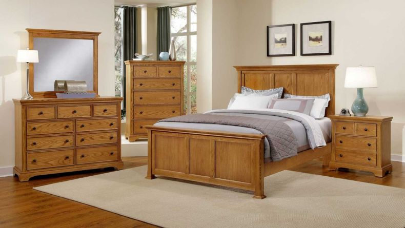 solid-oak-bedroom-furniture-sets-rustic-master-bedroom-decor-ideas