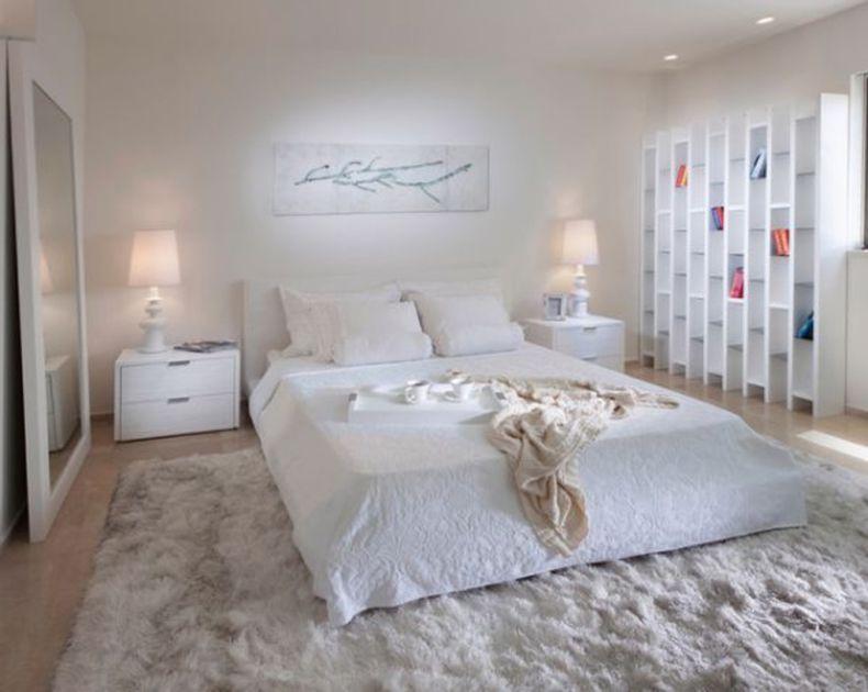 Bedroom All White Bedroom Decor Ideas White Bedroom Sets White All with regard to All White Bedroom Decorating Ideas - Home Interior Design Ideas