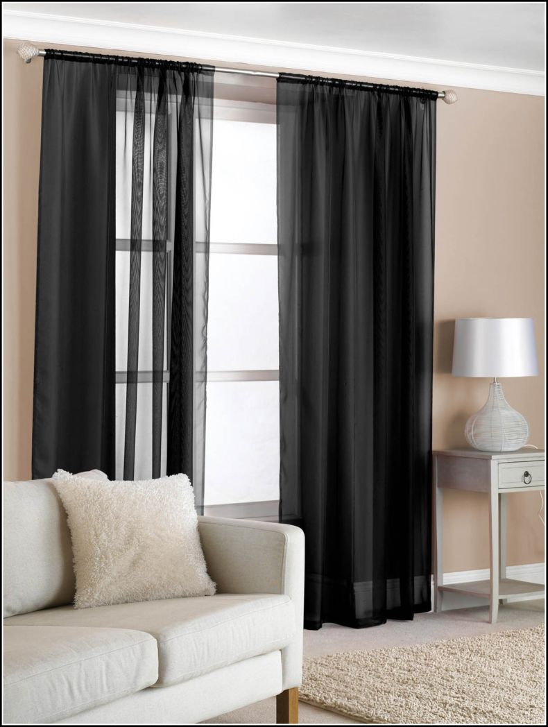 black-net-curtains-for-bedroom