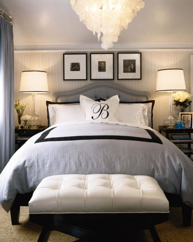 contemporary-black-and-white-bedroom-decors