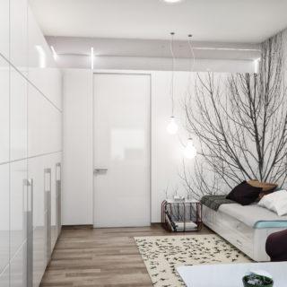 Дизайн маленькой спальни — 95 фото обустройства интерьера