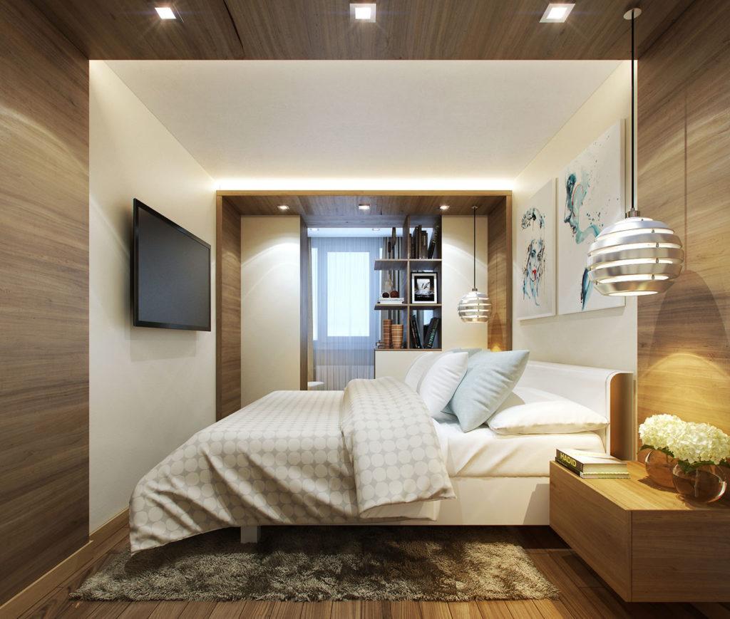 Дизайн маленькой спальни - 95 фото идей обустройства интерье.