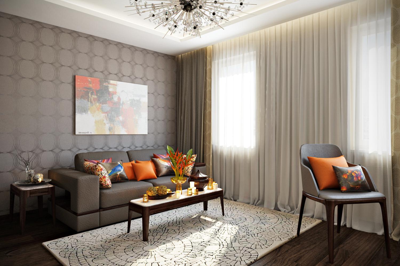 Дизайн гостиной фото 2018 современные идеи обои