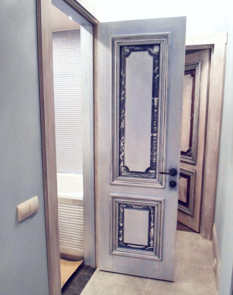 Чем обновить межкомнатные двери своими руками фото фото 257