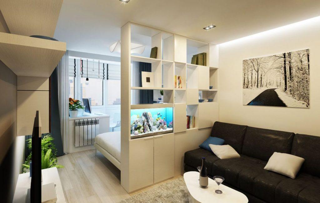 Дизайн комнаты 20 кв. м