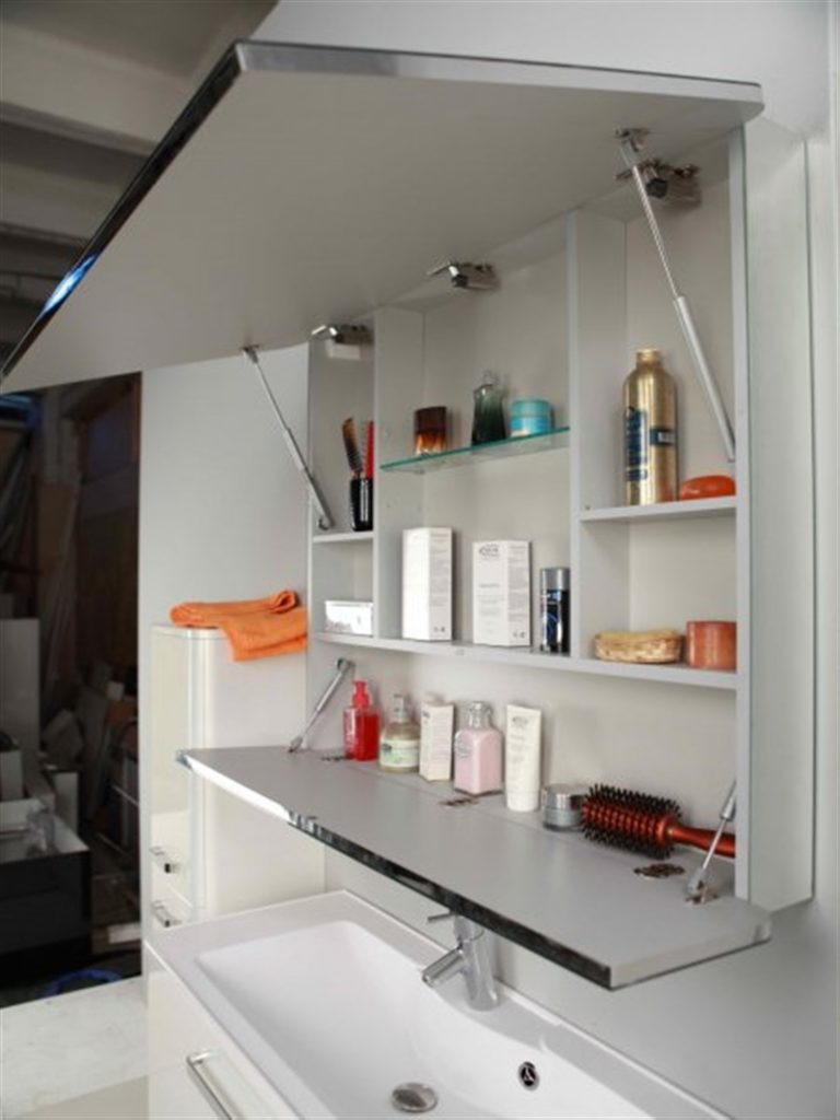 Шкаф для ванной - 75 фото идей и новинок безупречного оформл.