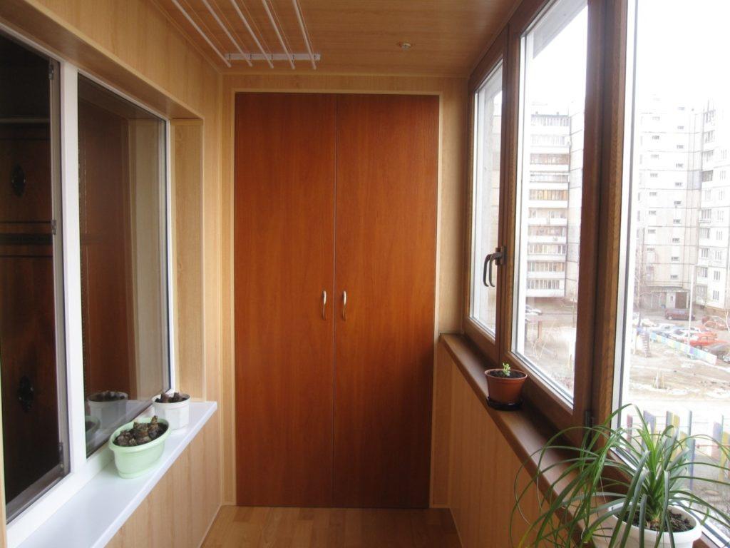 Балкон лоджия отделка