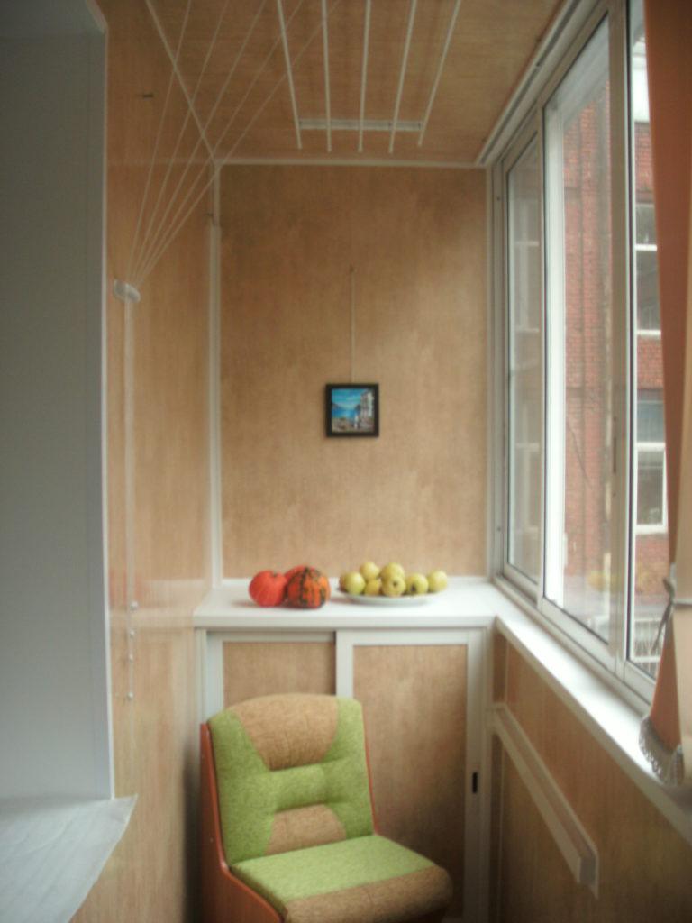 Ремонт на балконе своими руками фото варианты отделки 91