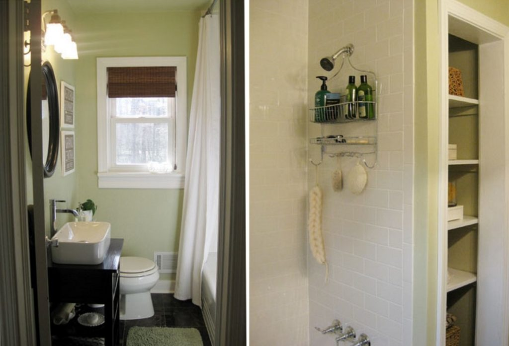 Ada bathroom clearances