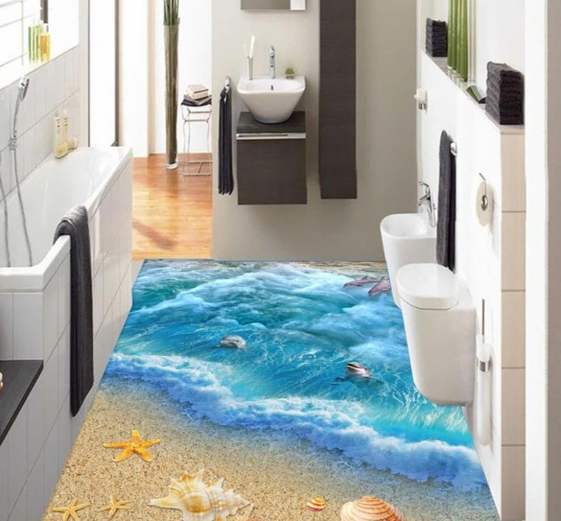 floor-wallpaper-3d-fashionable-interior-design-beach-design-3d-floor-wallpaper-for-bathroom-living-room-decor