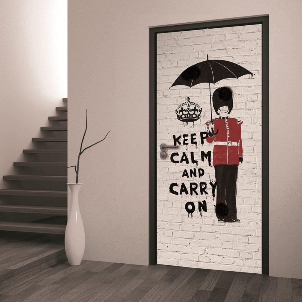 Идеи для декора дверей своими руками 38