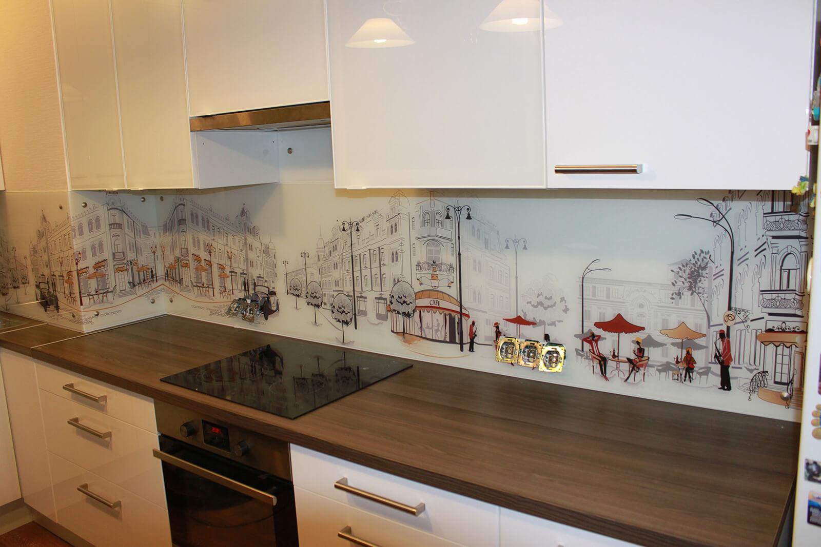 Обои на кухню современные в маленькую кухню