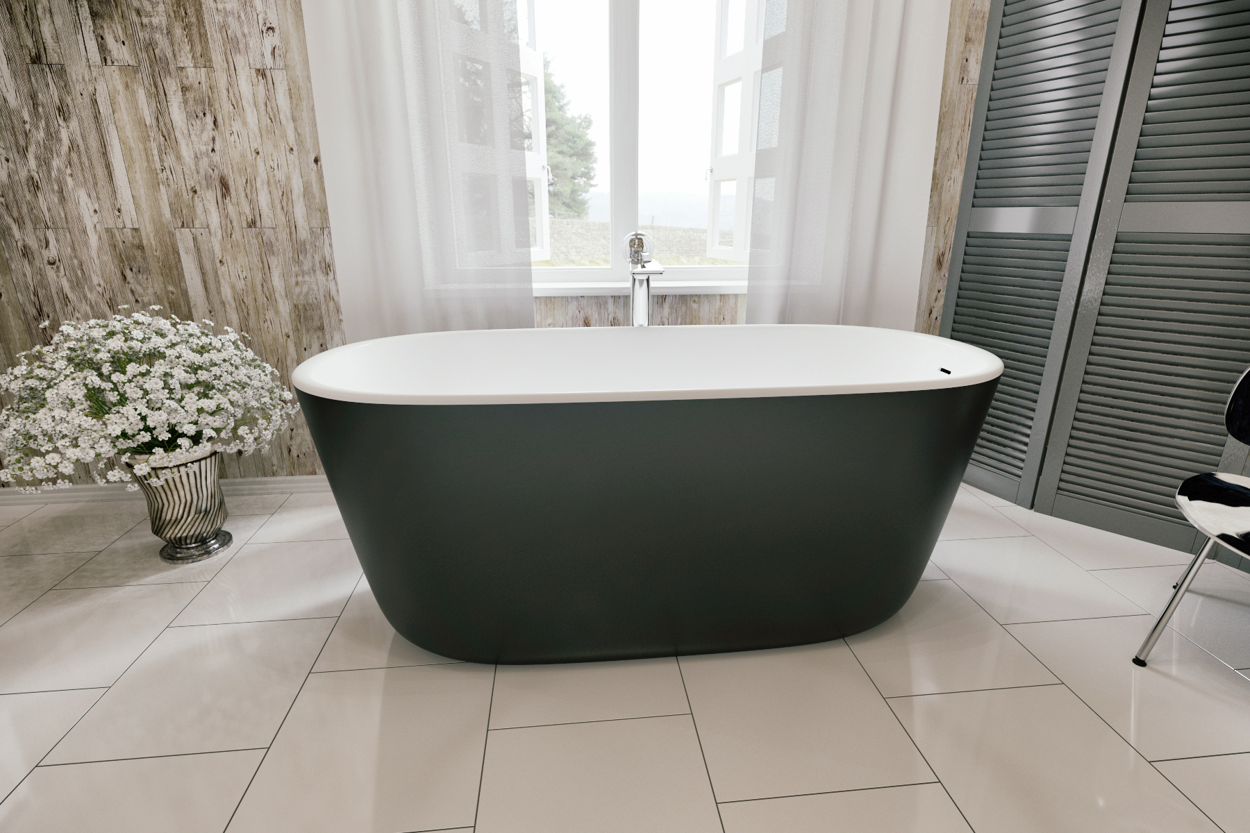 lullaby-blck-wht-freestanding-solid-surface-bathtub-by-aquatica-1