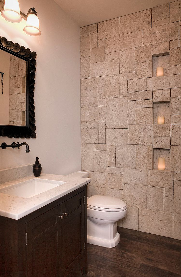 small-bathroom-idea-with-coral-stone-veneer-on-the-wall