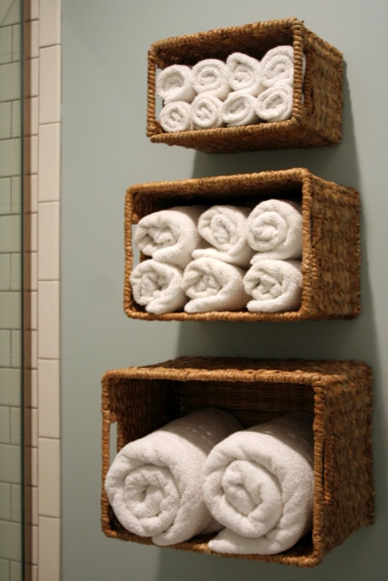 stunning-rattan-basket-instant-bathroom-shelves-design-white-towels-888x1331