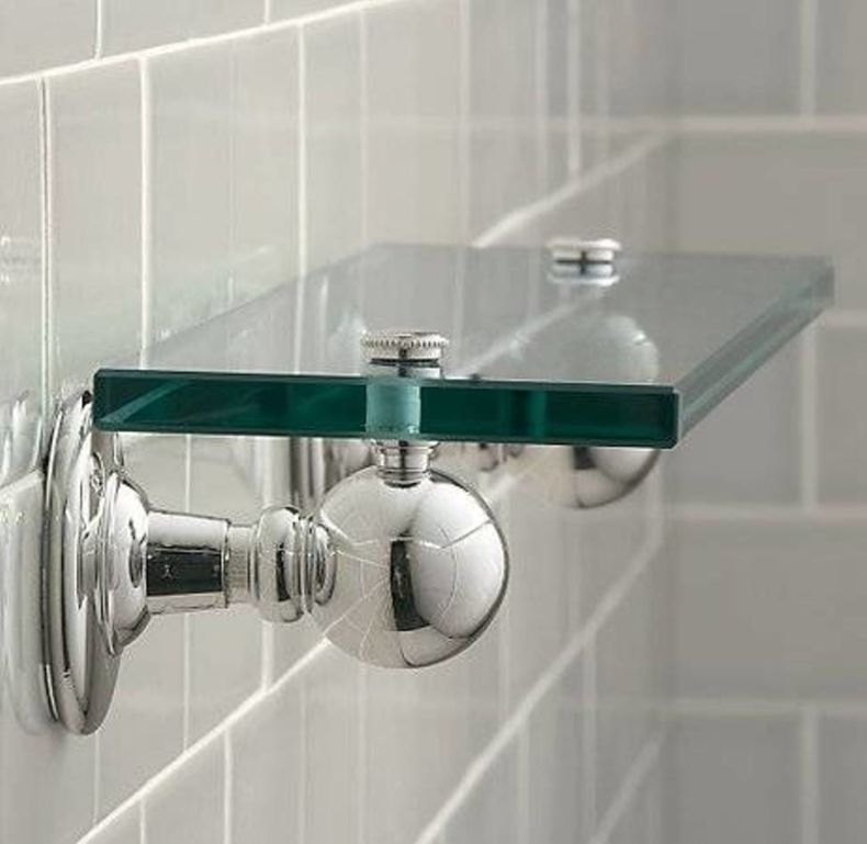 brilliant-silver-bathroom-glass-decorative-shelf-brackets-decorative-shelf-with-bathroom-glass-shelves