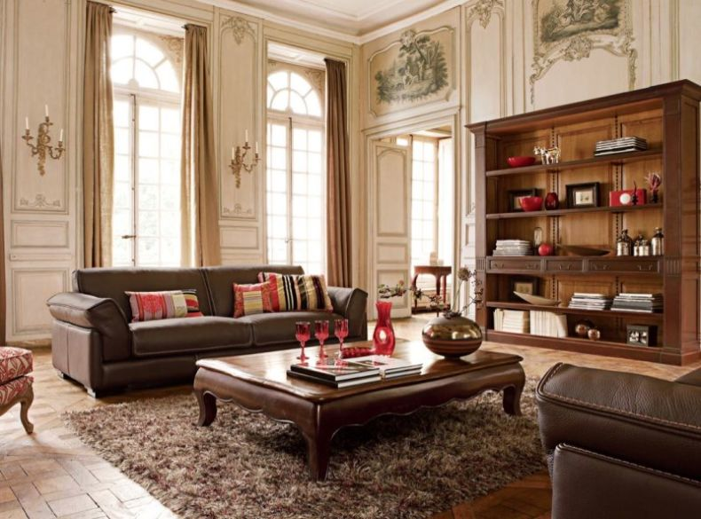 cute_design_classic_style_living_room