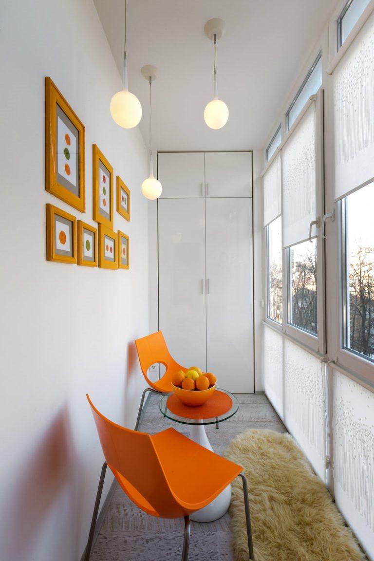 Дизайн квартиры студии с лоджией 22 кв