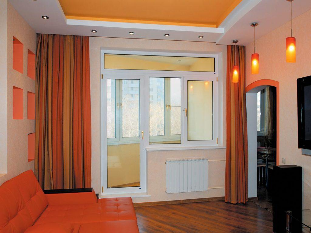 Купить пластиковые балконные двери с окном на балкон цена.