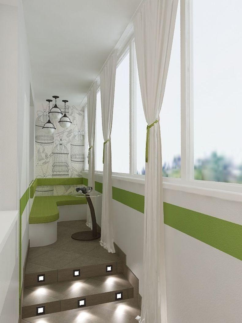 Дизайн лоджии - фото современных идей обустройства дизайна л.