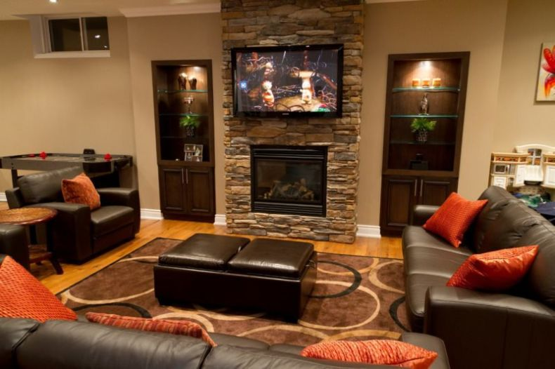 furniture-fireplace-designs-with-tv-above-stone-mounted-living-room-placement-on-brick-walls-brown-s_brick-wall-tv-room_home-decor_cheap-home-decor-yosemite-decorating-catalogs-unique-stores-pinterest