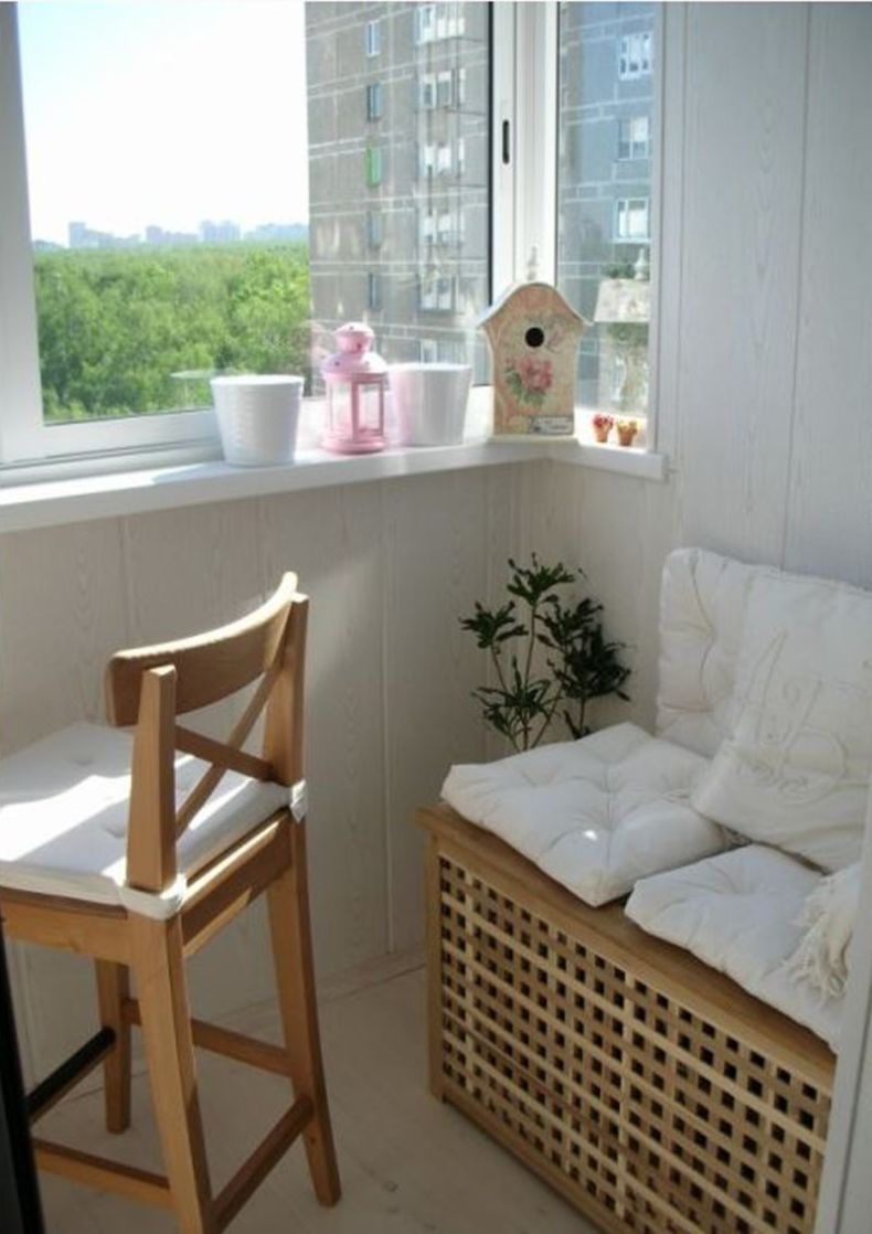 Мебель для лоджии - 88 лучших фото красивого дизайна в интер.