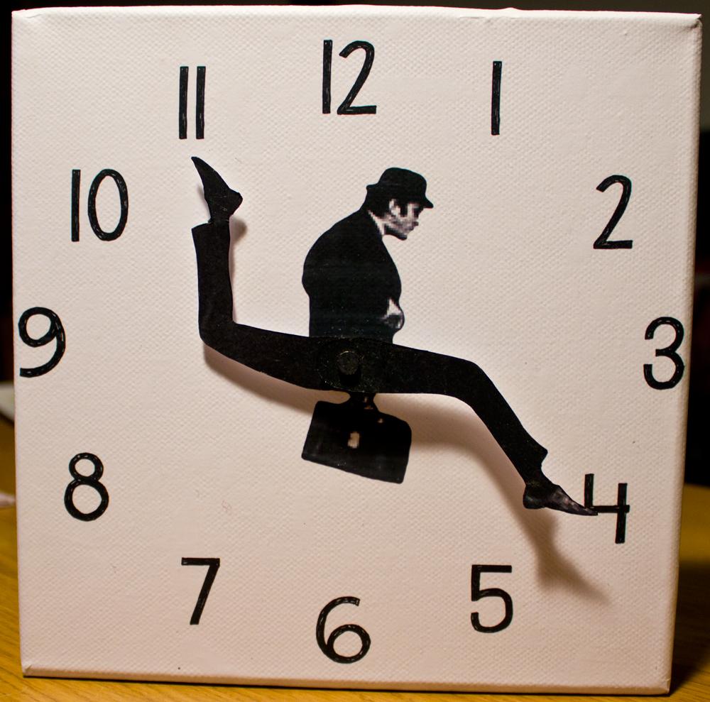 Большие часы на стене своими руками фото 262