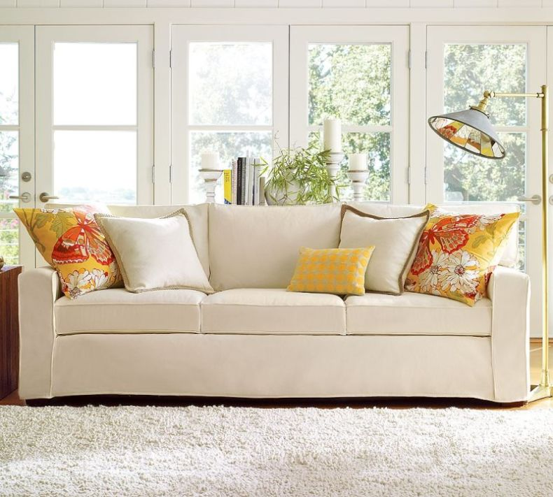 unique-modern-white-upholstery-sofa-in-living-room