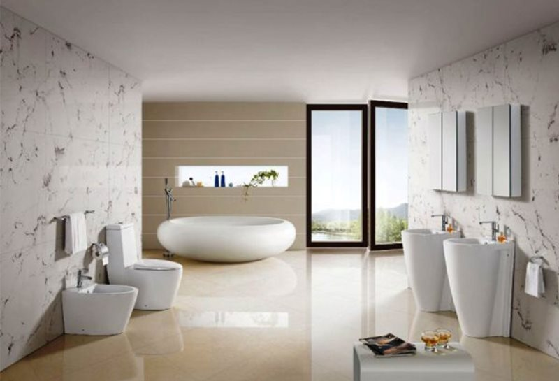 wonderful-white-glass-modern-design-simple-bathroom-decor-ideas-bathtub-wall-glass-wall-mirror-faucets-toilet-seat-floating-towel-at-bathroom-with-small-bathroom-remodel-also-bathrooms-design