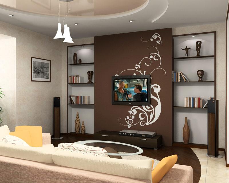 Декор в гостиной (22)