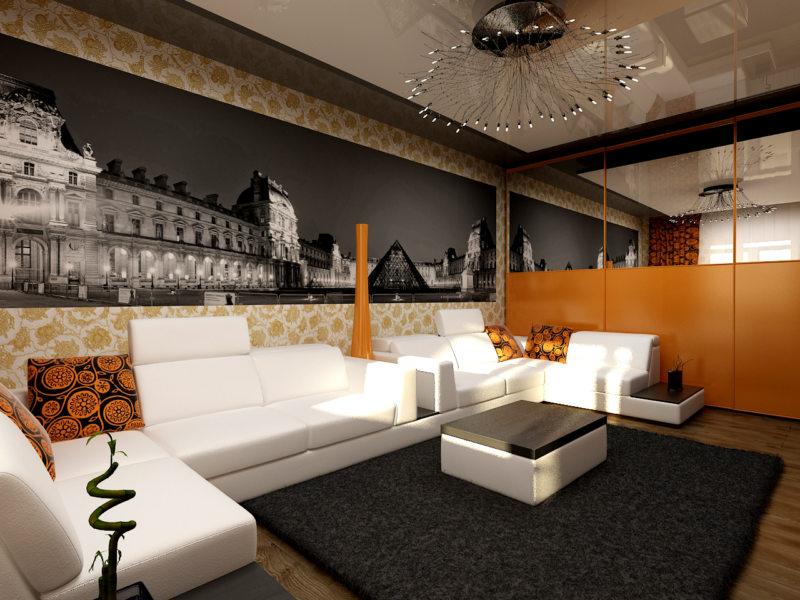 Декор в гостиной (30)
