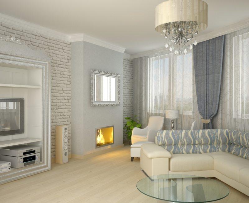 Декор в гостиной (33)