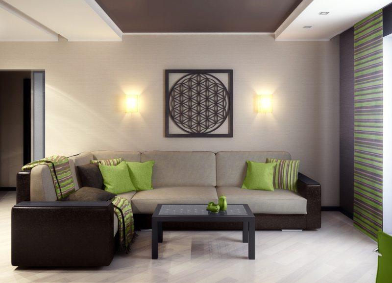 Декор в гостиной (37)