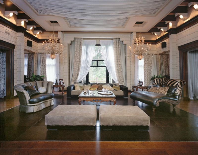 Декор в гостиной (40)