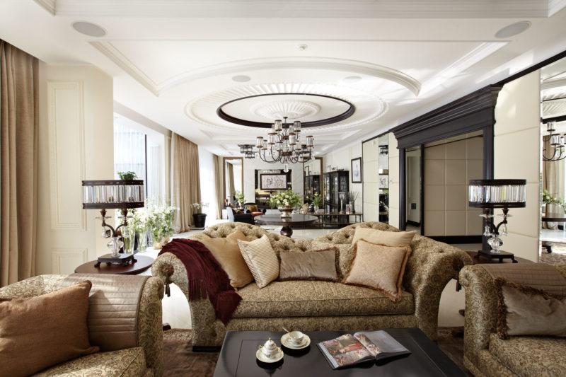 Декор в гостиной (42)