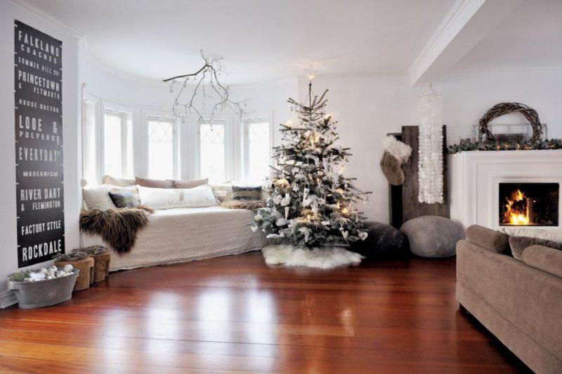 Декор в гостиной (60)