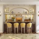 Дизайн узкой кухни (32)