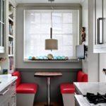 Дизайн узкой кухни (7)