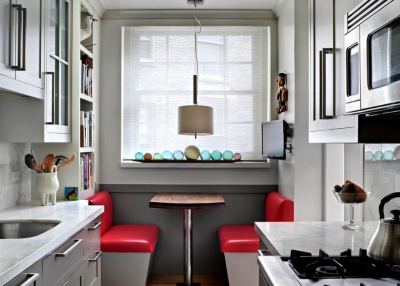 Интерьер маленькой кухни фото 2015 современные идеи