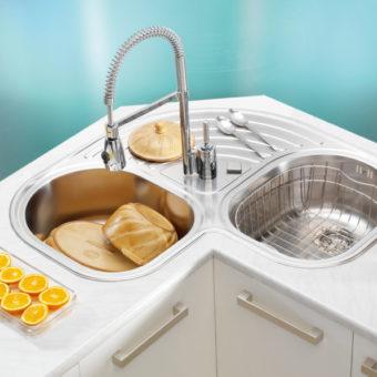 Мойка на кухню — какую выбрать? 80 фото идей сочетания в интерьере кухни