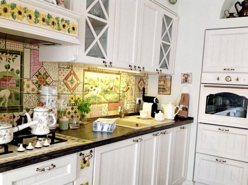 Фартук на кухне (35)