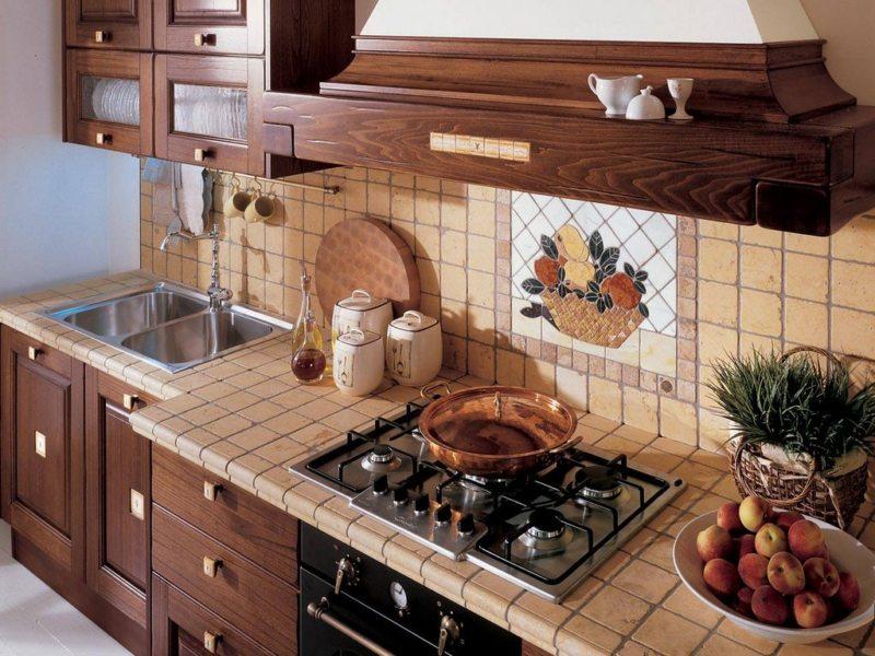 Фартук на кухне (41)