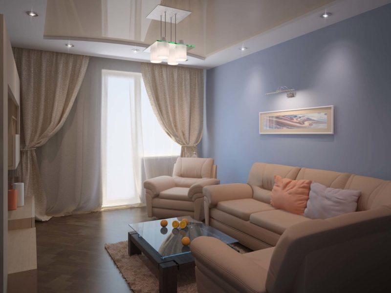 гостиная 18 м2 70 фото стильного дизайна в современном стиле