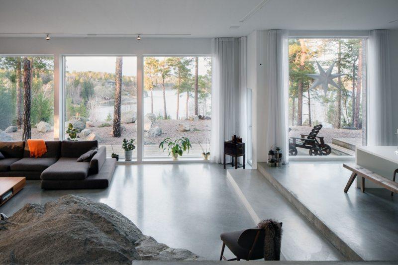 Гостиная с двумя окнами (33)