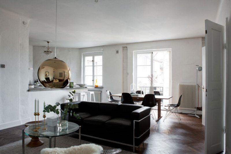 Гостиная в скандинавском стиле (23)